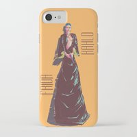 frida kahlo iPhone & iPod Cases featuring Frida Kahlo by antoniopiedade
