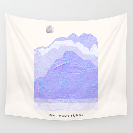 Mount Everest Wall Tapestry