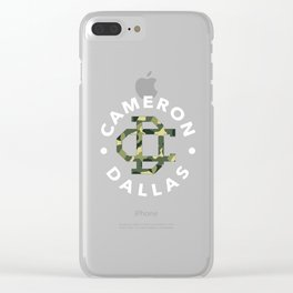 cameron dallas army Clear iPhone Case