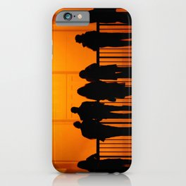 Gazing at The Weather Project iPhone Case