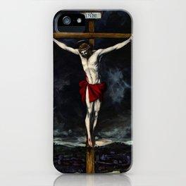 Crucifixion of Jesus iPhone Case