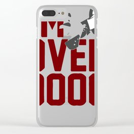 I'm Over 9000 Clear iPhone Case