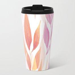 Flowers repeat Travel Mug