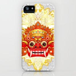 Barong, Balinese mask, Bali mask #3 iPhone Case