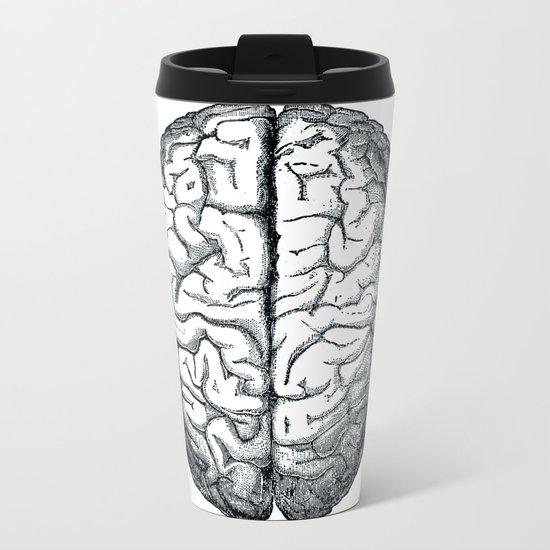 Brain Metal Travel Mug