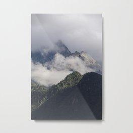 Tiger Leaping Gorge Metal Print