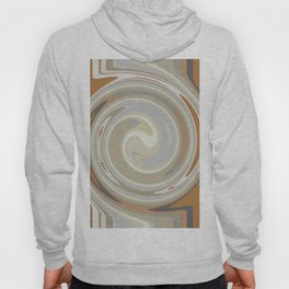 Distorted stripes in colour 3 Hoody