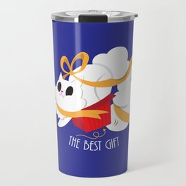 Best gift for a cat - a box! Travel Mug