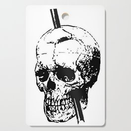 The Skull of Phineas Gage Vintage Illustration Cutting Board