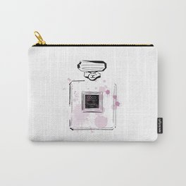 Purple Perfume Carry-All Pouch