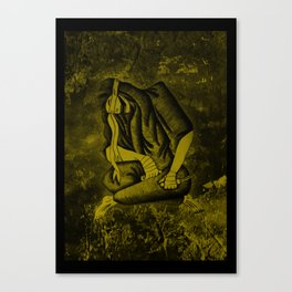 The Procrastination of Death Canvas Print