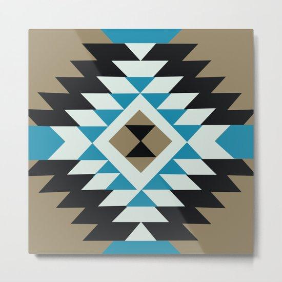 American Native Pattern No. 25 Metal Print