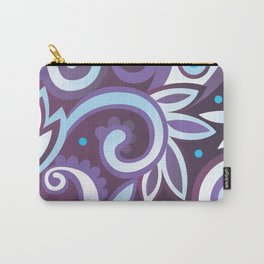 Summer leaves, purple Carry-All Pouch