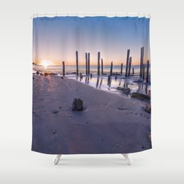 Port Willunga Sunset Shower Curtain