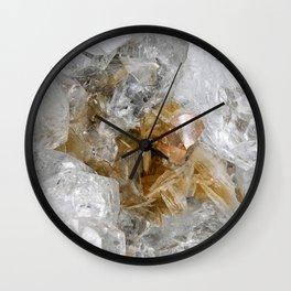 Gold Gemstone Wall Clock