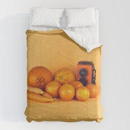 Orange carrots - still life Comforters
