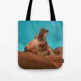 MADiSON (shelter pup) Tote Bag