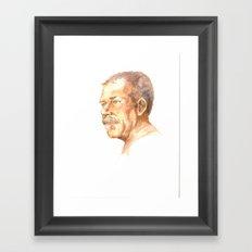 Portrait study 1 Framed Art Print