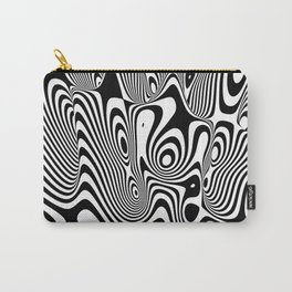 Trippy Background Carry-All Pouch