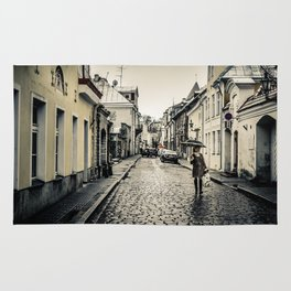 Street in Tallinn Rug
