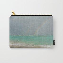 Double rainbow Punta cana Carry-All Pouch