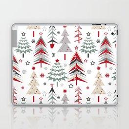 Fairy Christmas forest. Laptop & iPad Skin