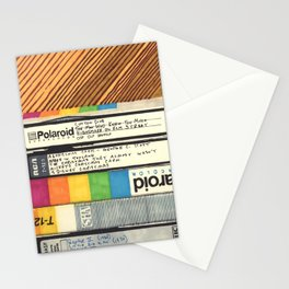 VHS & Wooden Wall Stationery Cards