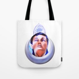 Priestess of the moon crystal Tote Bag