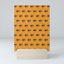 Beautiful Bees Mini Art Print