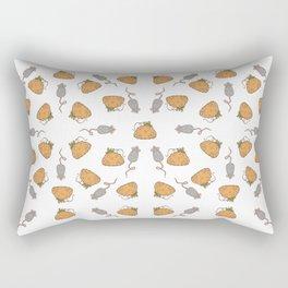 Pumpkins & Mice Rectangular Pillow