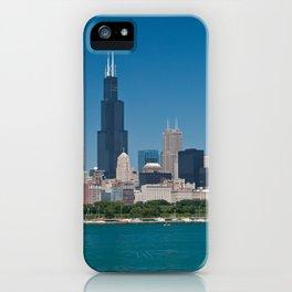 Chicago Skyline Panorama iPhone Case