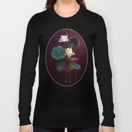 Lotus in Violets. Long Sleeve T-shirt