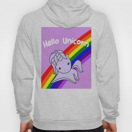 Hello Unicorn Hoody