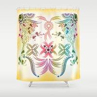 bohemian Shower Curtains featuring Bohemian  by famenxt