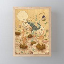 Balance Framed Mini Art Print