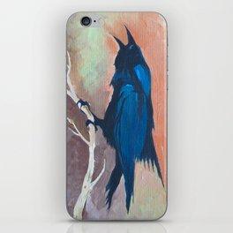 Crow Scream iPhone Skin