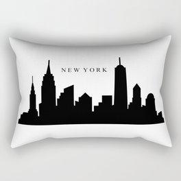 new york skyline Rectangular Pillow