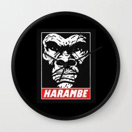 HARAMBE WILL RISE AGAIN Wall Clock