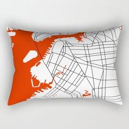 Brooklyn New York Rectangular Pillow