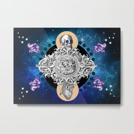 THE UNCERTAINITY OF THE TIME Metal Print