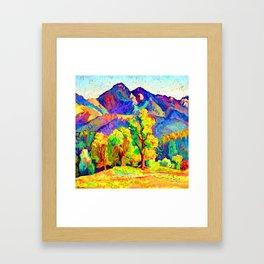 Ion Theodorescu Sion Piatra Craiului Framed Art Print