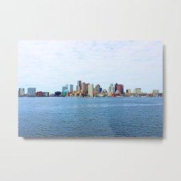 City of Boston Whole view  Metal Print