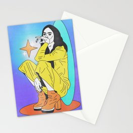 afterparty (vintage version) Stationery Cards