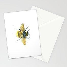 Bumblebee Art - Watercolor Bumblebee Art Stationery Cards