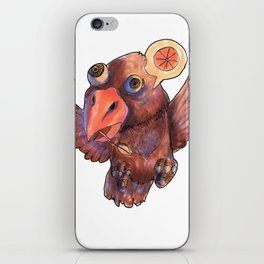 Condor Orange iPhone Skin