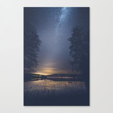 Society Canvas Print