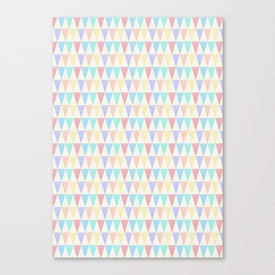 Tri∆ngle Canvas Print