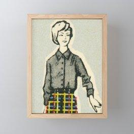 Fashion ´65 # 5 Framed Mini Art Print
