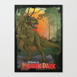 Jurassic Park | T-Rex Canvas Print