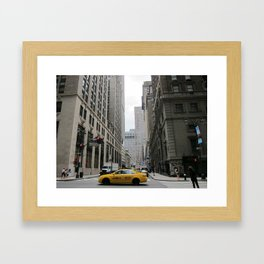 New York, NY Framed Art Print